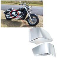 Chrome Plastic Battery Side Fairing Cover For Honda Shadow VT750 400 VT 750 2003