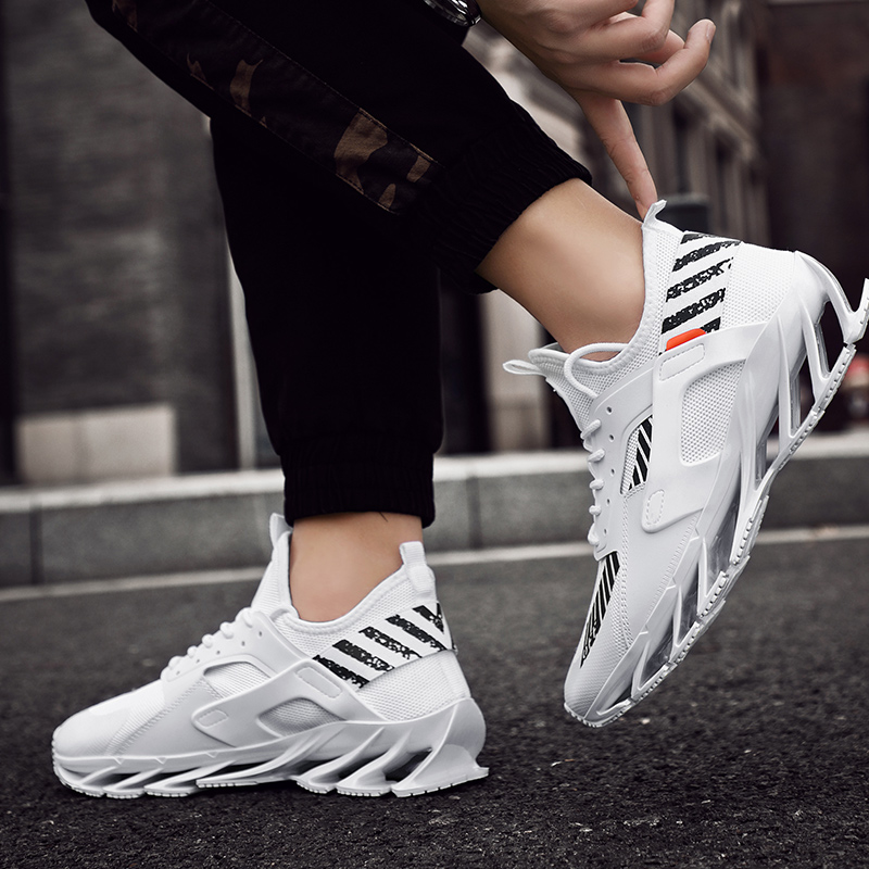 Rommedal man's running shoes Blade bottom shock absorption men sneakers breathable lightweight fashion sport trainers footwear