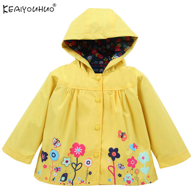 009bf0a2f59b Spring Windbreaker Kids Clothes Hooded Girls Windbreaker Jackets For ...