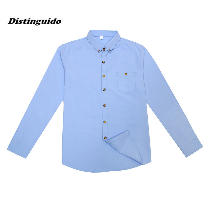 2017 font b Men b font Fashion Cotton Dress font b Shirt b font Brand Business