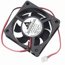 100pcs/lot CPU Cooler 24V 2Pin 6cm 60mm 60x60x20mm DC Brushless Heatsink Cooling Exhaust Fan стоимость