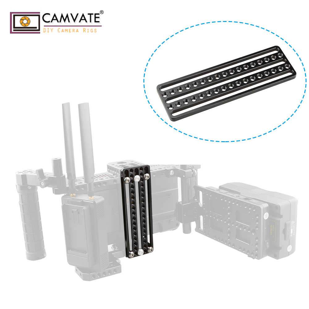 CAMVATE Universal Top Cheese Plate for Camera Monitor Cage Rig