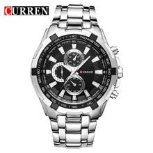 NUEVO 2016 curren relojes de los hombres Superiores de la Marca de moda hombre reloj de cuarzo reloj relogio masculino hombres Del Ejército Analógico deportes Ocasionales 8023