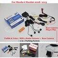 For Mazda 6 Mazda6 2008~2013 - Car Parking Sensors + Rear View Camera = 2 in 1 Visual / BIBI Alarm Parking System