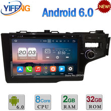 9″ 4GB RAM 32GB ROM Octa Core Android 6.0 DAB 3G/4G WiFi RDS Car DVD Player Radio Stereo For Honda FIT Right Hand Driving 2014
