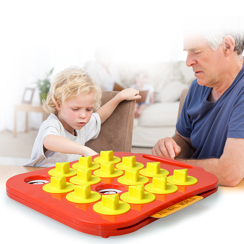Children Toys Gift Memory Training Matching Pair Game Interactive Parent Child Link Up Chess Kids Early Education Toy