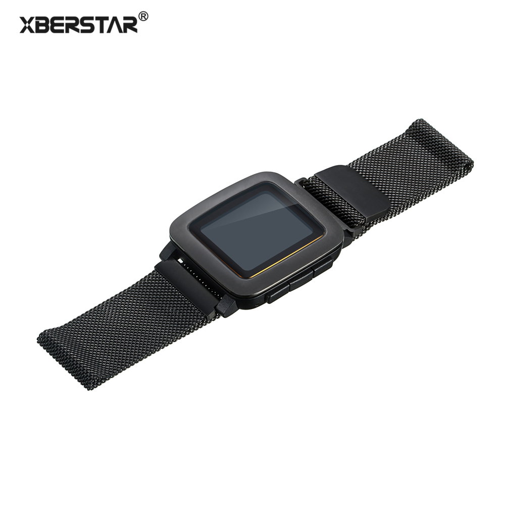 Strap for Pebble 1 Pebble Time Milanese Loop Wrist Watch Strap Band For Pebble 1 / Pebble Time Smart Watch