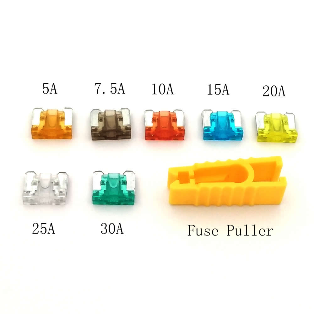 50pcs lot Fuse Box Auto Micro Fuse 7 Values Blade Mixed 5A 7 5A 10A 15A 50pcs lot fuse box auto micro fuse 7 values blade mixed 5a 7 5a micro fuse block at eliteediting.co