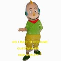 Yeşil canavar maskot kostüm alien özel karakter karikatür cosplay karnaval kostüm 2997
