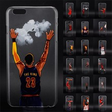 NBA star basketball player phone case for iphone 5 5s 6 6s 7 plus Jordan 23 james harden curry hard PC back cover coque fundas
