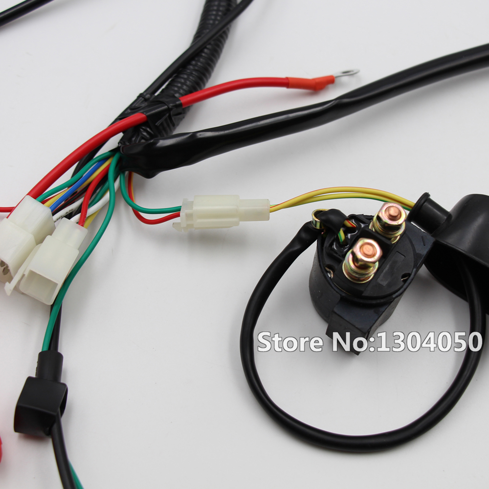 Engine Electrics Wiring Harness Loom Cdi Relay Recitifier Ignition China Power Cable Cord 100 Brand New Fitment For Chinese Dirt Bike 150cc 200cc 250cc Loncin Zongshen Package Included 1 X