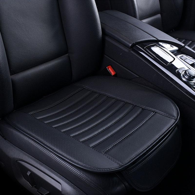 Ultra-Lujo solo asiento sin respaldo de la PU superior de asiento de cuero de coche protección asiento de coche para más de cuatro puertas sedán y SUV