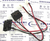 10PCS LOT Micro Switch D2SW P01 2M 12 Waterproof Belt Wire Travel Switch Normally Closed