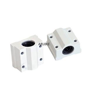 1 шт. scs6uu/scs8uu/scs10uu 6 мм/8 мм/10 мм/12 мм линейного движения шариковых подшипников с ЧПУ втулка для линейного вала DIY 3D части принтера