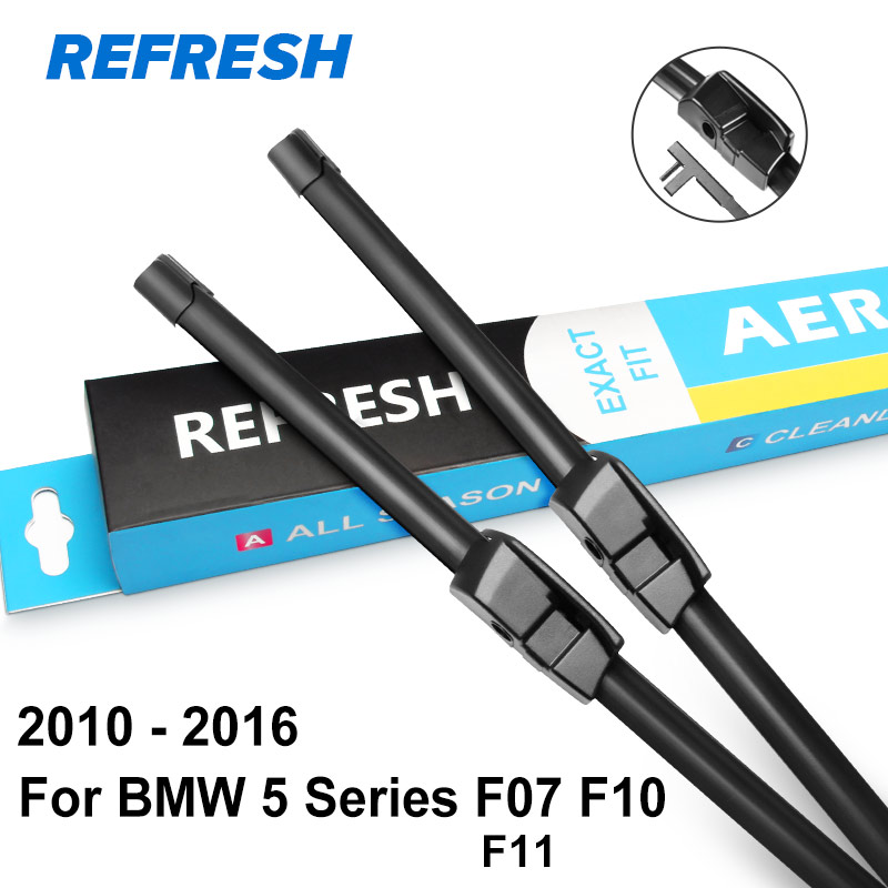 Image 4 - REFRESH Wiper Blades for BMW 5 Series E39 E60 E61 F07 F10 F11 G30 G31 520i 523i 525i 528i 530i 535i 518d 520d 525d 530d 535d-in Windscreen Wipers from Automobiles & Motorcycles
