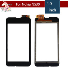 10pcs/lot 4.0 For Nokia Microsoft Lumia 530 N530 LCD Touch Screen Digitizer Sensor Outer Glass Lens Panel Replacement