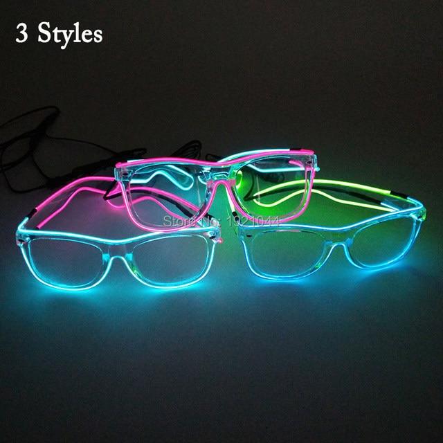 Online Shop Voice Control Led Glasses Cheap Wholesale 100pcs El Wire ...