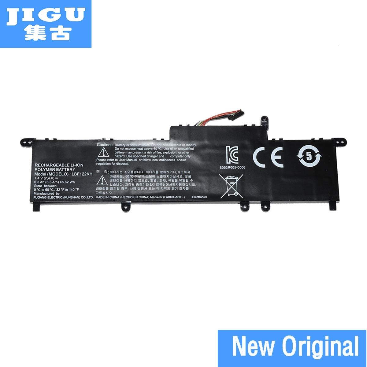 JIGU LBF122KH 7.4V 46.82WH Original Laptop Battery For LG P2