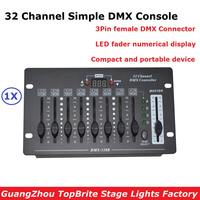 NEW 32 Channel Simple DMX Controller Stage Lighting DJ Equipments DMX Console For LED Par Moving