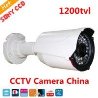 FreeShip New Video Surveillance Security CCTV IR Bullet Camera 1200 Tvl CCTV Camera Ir Cut Indoor