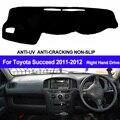 Накладка на приборную панель автомобиля  коврик для Toyota succen 2011 2012  автомобильный солнцезащитный коврик  коврик для приборной панели  Наклад...