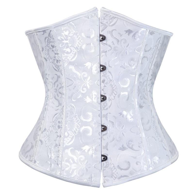 e2b144cd2b Detail Feedback Questions about caudutas women s corset underbust bustiers  floral gothic corset sexy lingerie top jacquard corset cupless costume plus  size ...