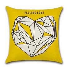 Nordic Style throw pillow case Pillowcase decorative cushion covers Black white Deer geometric for sofa