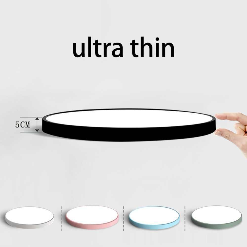 Светодиодный потолочный светильник современная лампа для гостиной светильник для спальни кухни поверхностное крепление скрытая панель Пульт дистанционного управления