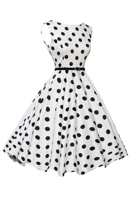 Elegante Hohe Taille Sleeveless Vintage Stil Formale Partykleid ...