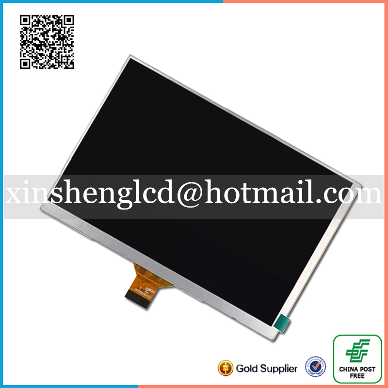 New LCD Display For 7 inch Oysters T72HRI 3G Tablet 30Pins inner LCD Screen Matrix Replacement Panel Free Shipping new lcd display matrix for 7 nexttab a3300 3g tablet inner lcd display 1024x600 screen panel frame free shipping