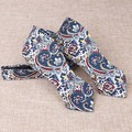 New Fashion Huckleberry Style Self Tie Bow Ties Polyester Self Tied Bowties for Men Paisley Men Bowties of Men Self Neck Ties