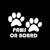Cute Dog Paw Reflective Car Truck Vehicle Body Window Decals Sticker Decoration 3