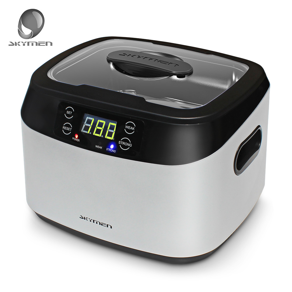 SKYMEN JP-1200BT 1.2L Digital Ultrasonic Cleaner Sterilizer Cleaner Disinfection Machine Electric Manicure Drill Jewelry Clean