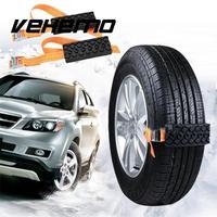 Vehemo Mud Chain Strap Snow Chain Rubber Nylon 2PCS Universal Tire Automobile Winter Belt