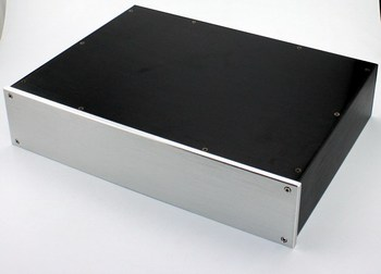 WA47 All aluminum amplifier chassis / Preamplifier case / AMP Enclosure / DIY box (425 *92*310mm)