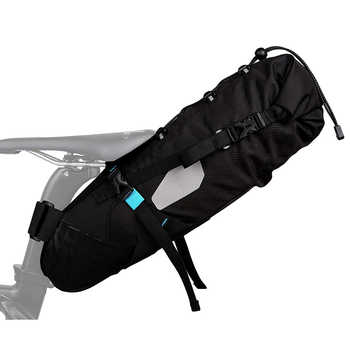 Roswheel 10 LWaterproof Cycling Bicycle Bike Saddle Bag Seat Tail Rear Pack MTB Storage Pouch Carrier ATTACK Series 131372