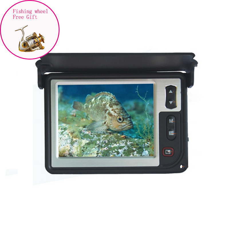15M 600TVL 3.5'' Color Monitor Fish Finder Underwater Ice Visual Video 2 Infrared Lights Fishing Camera Fish Detector LQ-3505T бутылка 0 4 л asobu ice t 2 go фиолетовая it2go violet