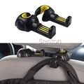 2X Car Seat Pothook Sticker For Mitsubishi Outlander ASX Lancer Pajero Honda Civic Fit City CRV Accord HRV JAZZ XRV Accessories