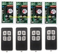 AC220V 1CH 10A RF беспроводной переключатель системы дистанционного управления 433 МГц 4 передатчика и 4 приемника релейный приемник умный дом перек...