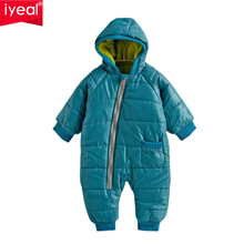 High Quality Baby Rompers Winter Thick Cotton Boys Costume Girls Warm Clothes Kid Jumpsuit Children Outerwear Baby Wear 4 Colors