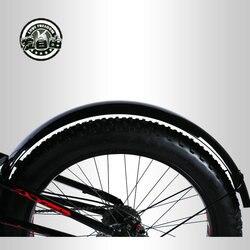 Błotnik rowerowy rower śnieżny klapa 26 cali 4.0 rowerowa płytka błotna quick release uniwersalny żelazny błotnik rosyjska wysyłka