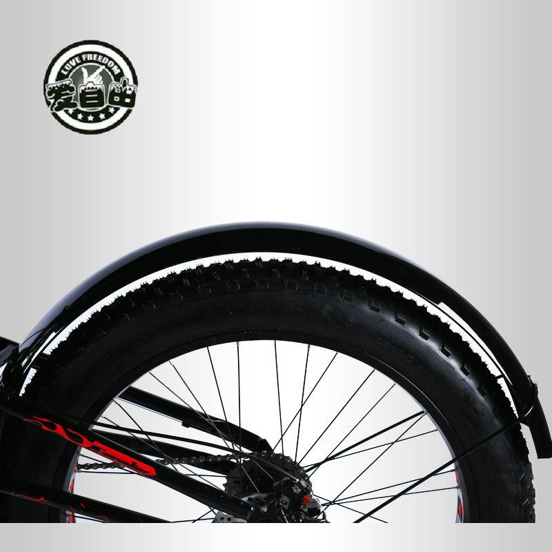 Vélo garde-boue neige vélo rabat 26 pouces 4.0 vélo boue tuile dégagement rapide universel fer garde-boue livraison russe