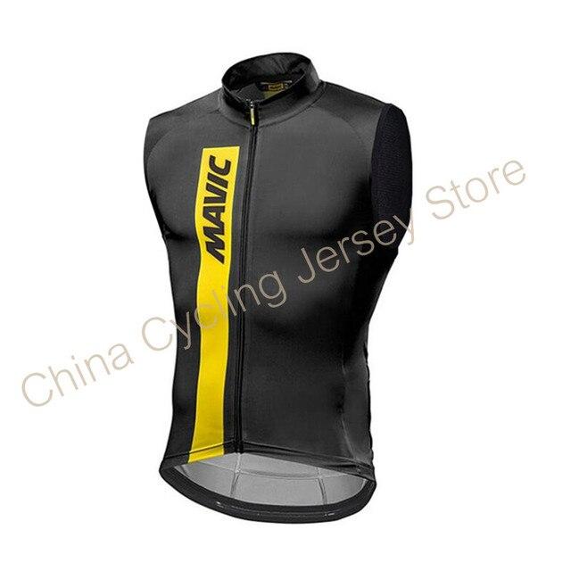 2019 Mavic Pro Team Men Cycling Jersey Sleeveless Bike MTB Clothes Ropa Maillot Ciclismo Bicycle Clothing Shirts bicicleta #311