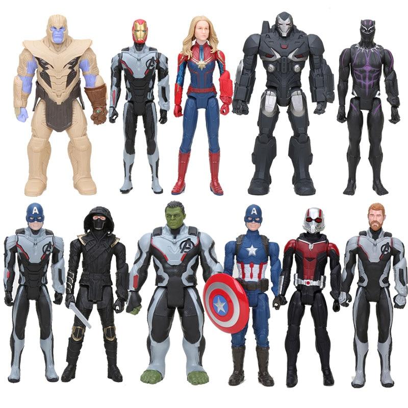 Marvel Avengers 4 Endgame Antman Ronin Iron Man Thor Captain Marvel Hulk Titan Hero Series Action Figure Toy