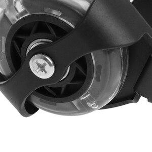 Image 3 - Children Wheel Heel Roller Light Adjustable Skates Kid Falsh Blade Shoe Strap  selling