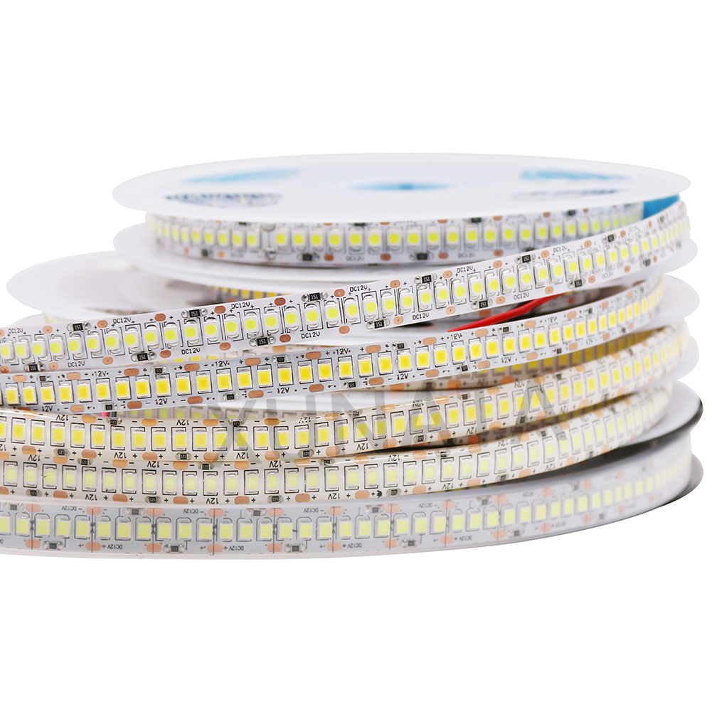 5M <font><b>LED</b></font> Strip 2835 SMD DC <font><b>12V</b></font> 240LEDs/M 300/600/1200 <font><b>Leds</b></font> <font><b>waterproof</b></font> IP65 Flexible Ribbon String <font><b>LED</b></font> Tape lights Cold Warm White image
