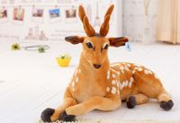 stuffed plush toy about 60cm sika deer toy doll birthday gift w0898
