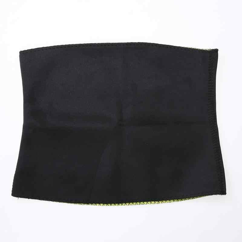 2018 สีดำเอวเทรนเนอร์ชุดรัดตัวสำหรับสุภาพสตรีคนรักความงาม Thermo Sweat ซาวน่า Slimming เอว Lady เข็มขัดลดน้ำหนัก