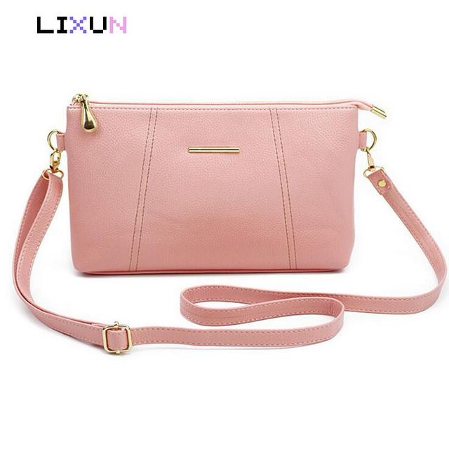 6a94a2a9f6 2018 Vintage Cute Small Handbags PU leather women Famous Brand Mini  Envelope Bags Crossbody bags Clutch Female messenger bags