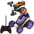 Супер трюк танцующий RC автомобиль  электрический управляемый мини-автомобиль  забавные вращающиеся колеса  игрушки для автомобиля на день ...